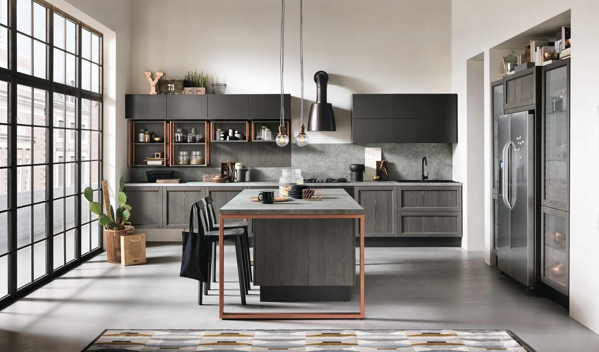 Artec talea novit cucina urban country style l for Arredare casa in stile country