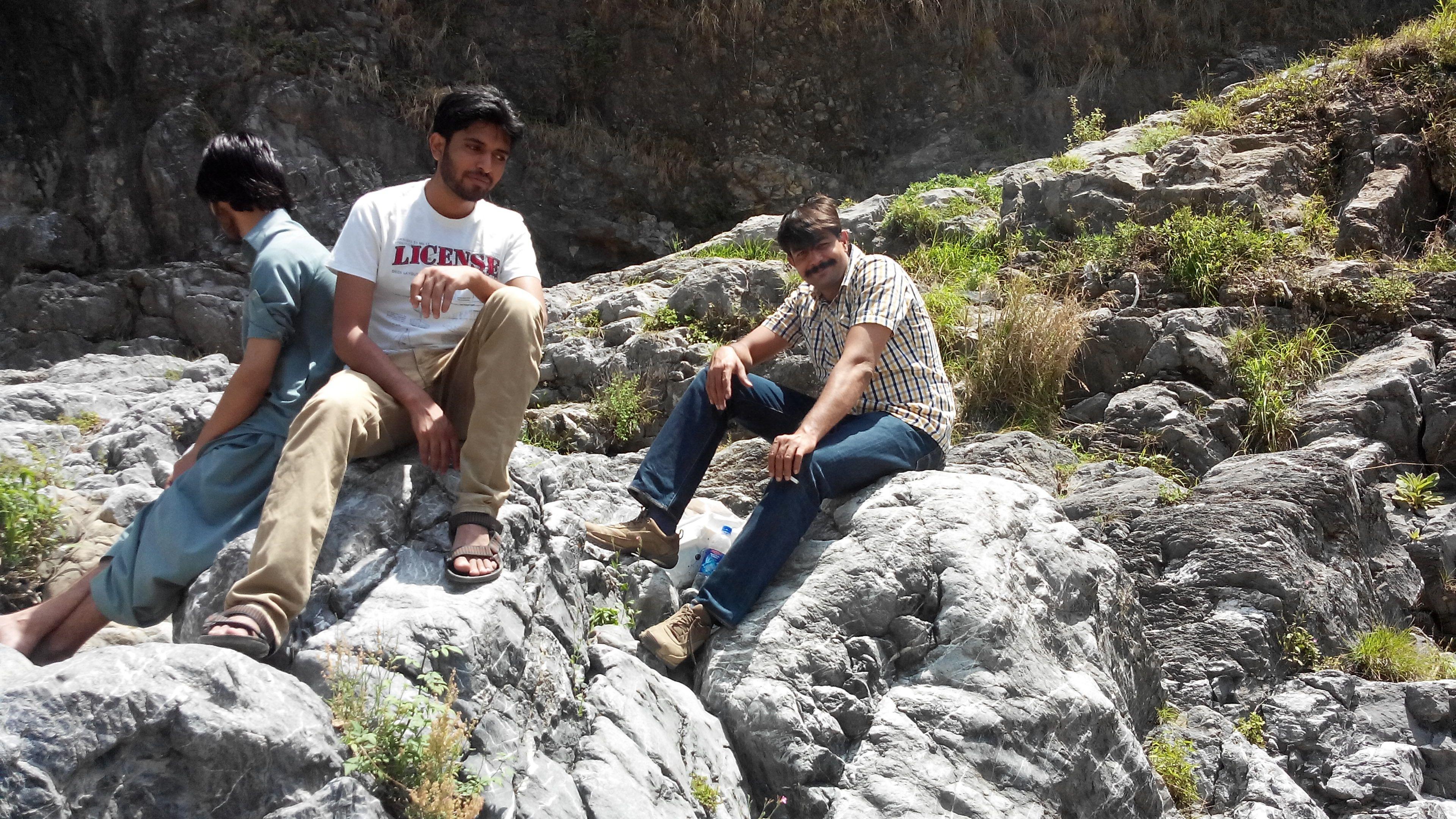 with Rashid Minhas on top terraces