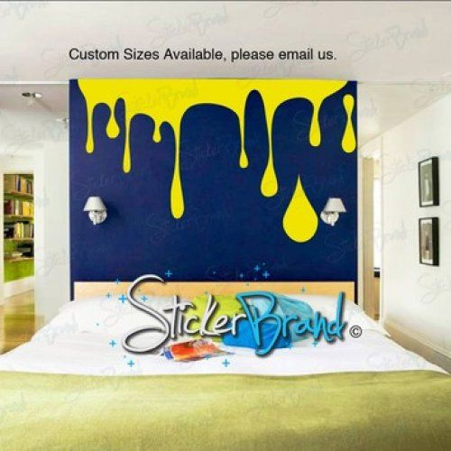 Vinyl Wall Decal Sticker Paint Dripping S Wall Decal Sticker Vinyl Wall Decals Drip Painting