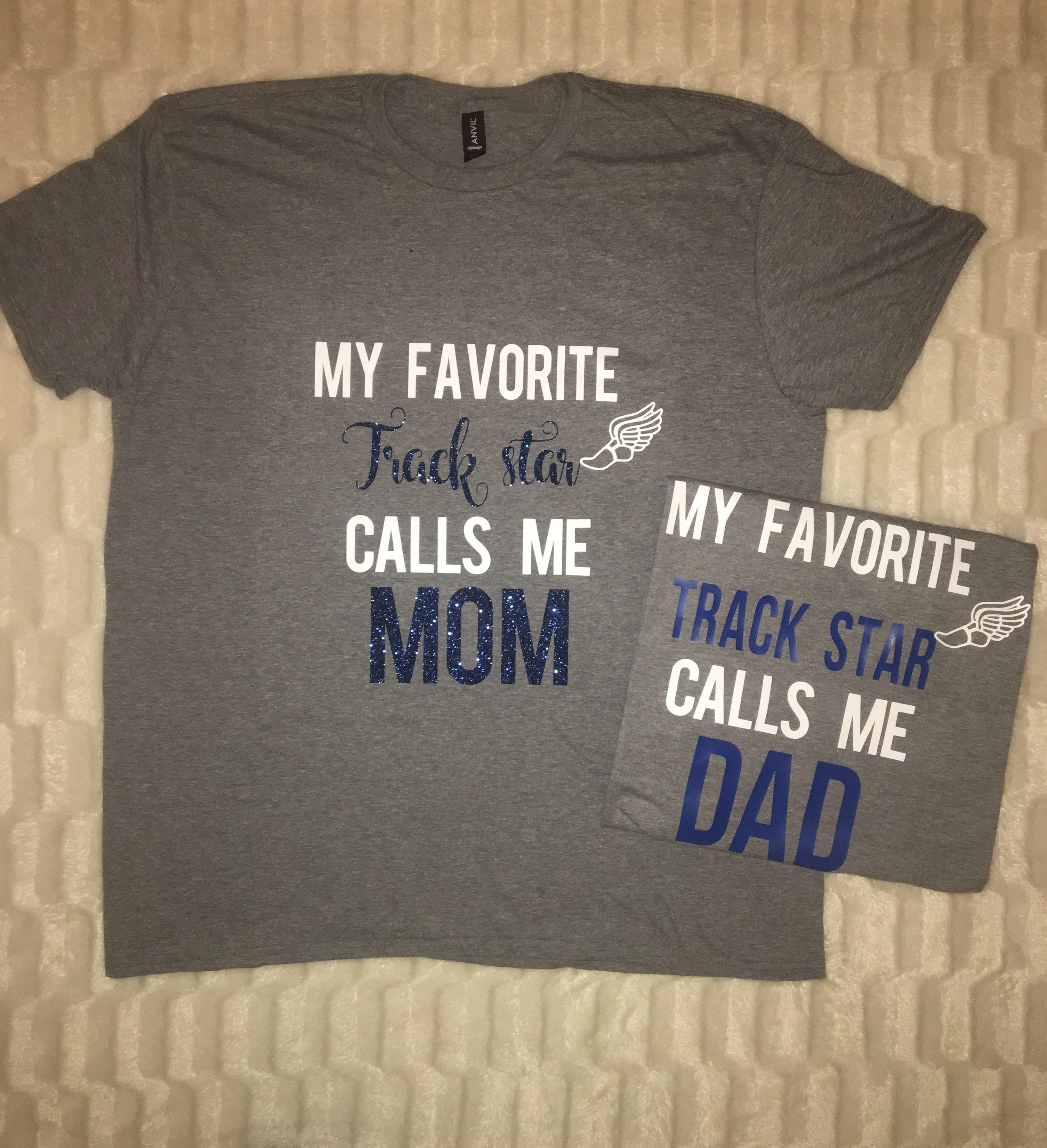cf431803c Track mom track dad track parent tshirt | Track mom shirt | Track ...