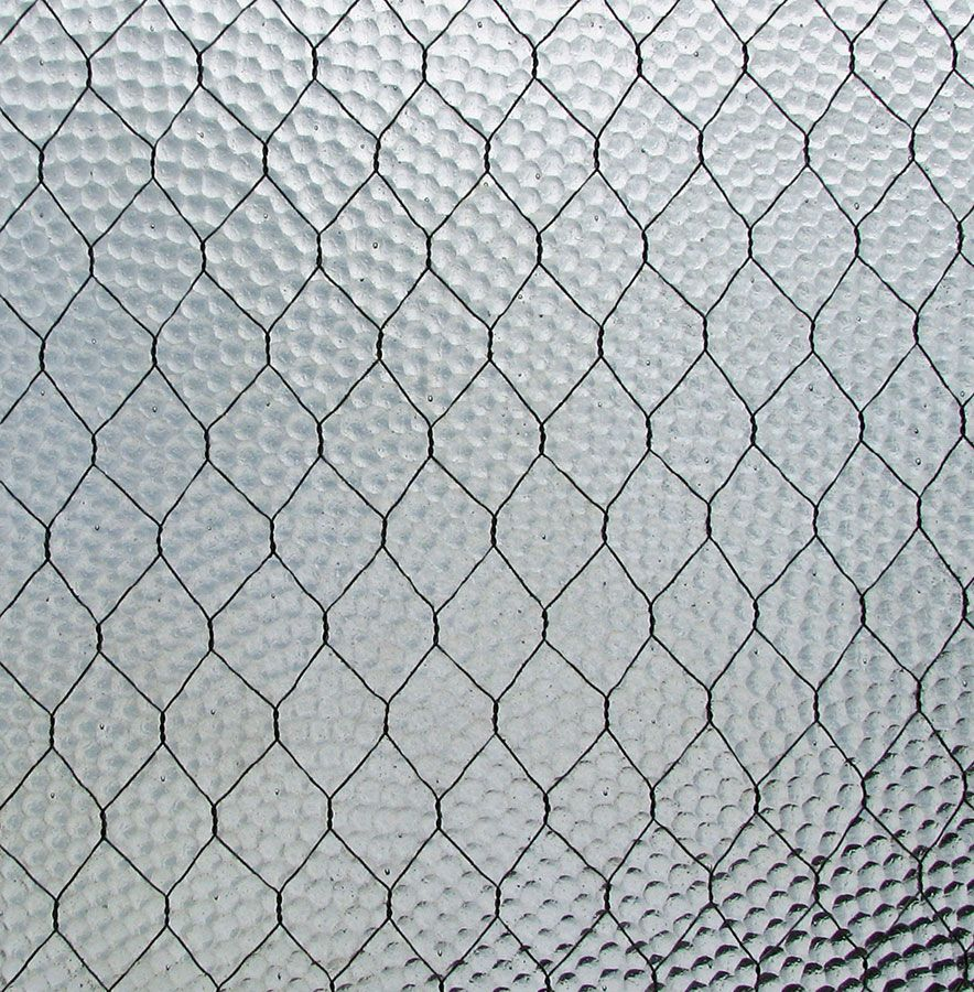Olde Good Glass - Chicken Wire Glass | // ECA Glass // | Pinterest ...