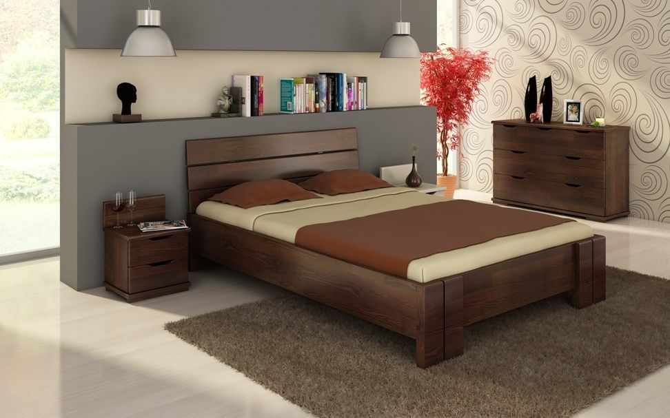 łóżko Dwuosobowe Wysuwane Jednopoziomowe Piętrus łóżka