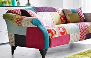 Multi Coloured Sofas Google Search Patchwork Sofa Cheap Sofas