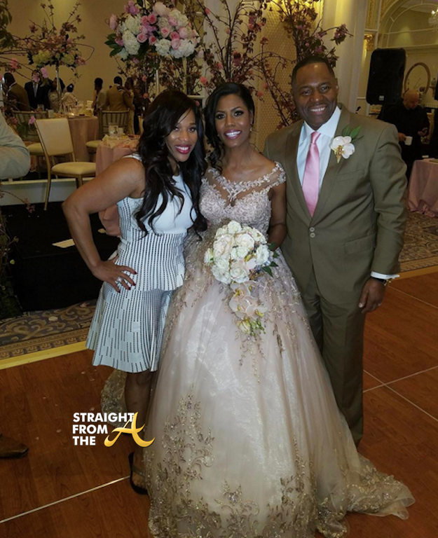 Omarosa Wedding Dress.Omarosa S Wedding Charisse Jackson Jordan Rhop Omarosa