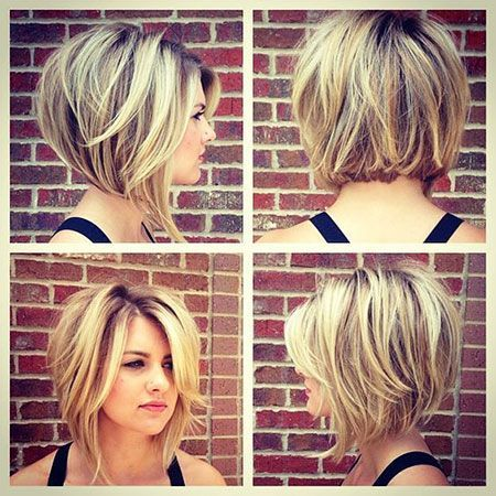 kurze Frisuren - 23 Best Stacked Bob Hairstyles 2017 | The Best Short Hairstyles for Women 2017 ... - Uber Frauen #nicolehuntsmanhair
