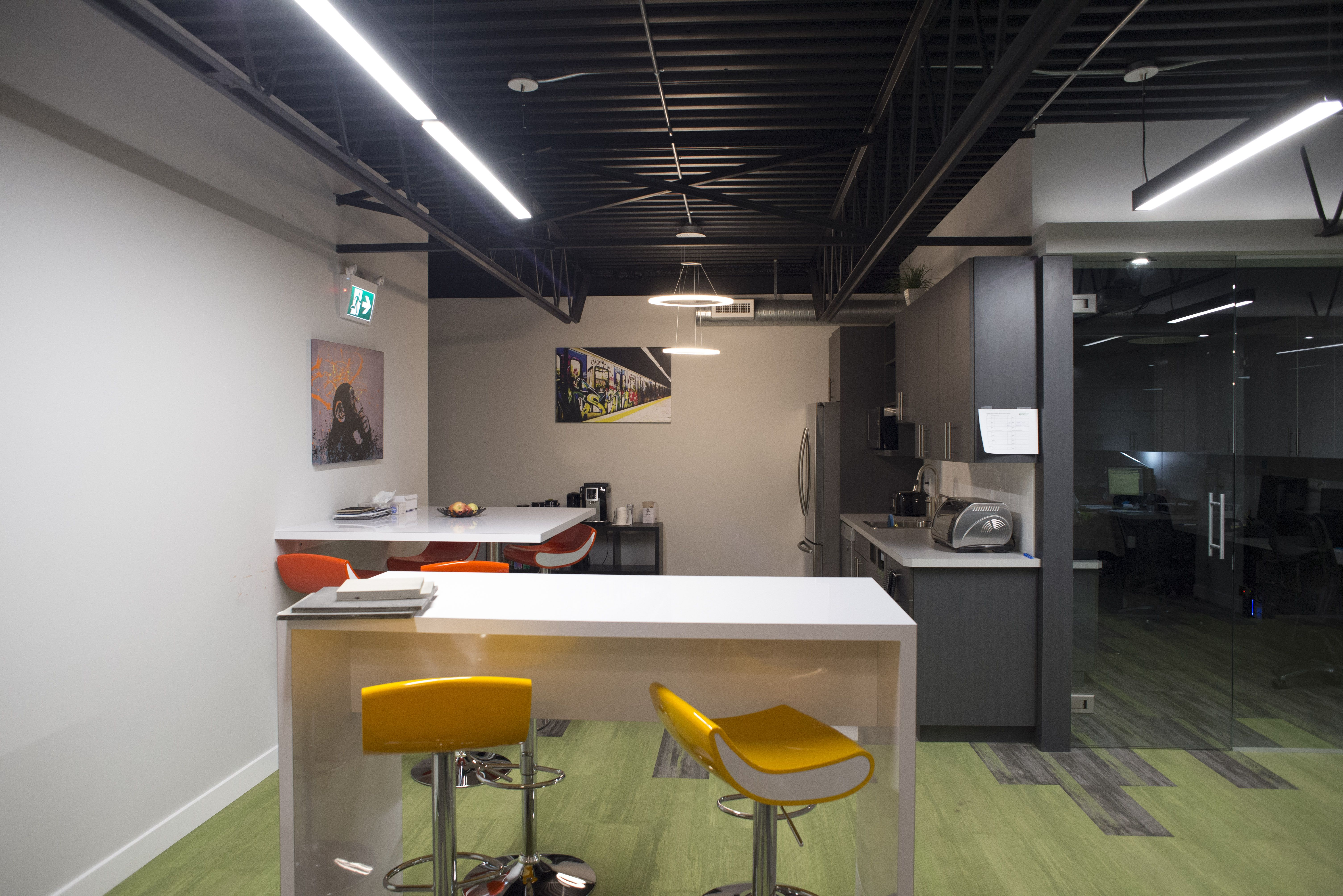 Edmonton Office Design Lounge In 2020 Office Design Design Interior
