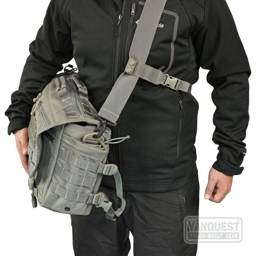 3a78609c1bb4 ENVOY Tactical Messenger Bag - VANQUEST  TOUGH-BUILT GEAR
