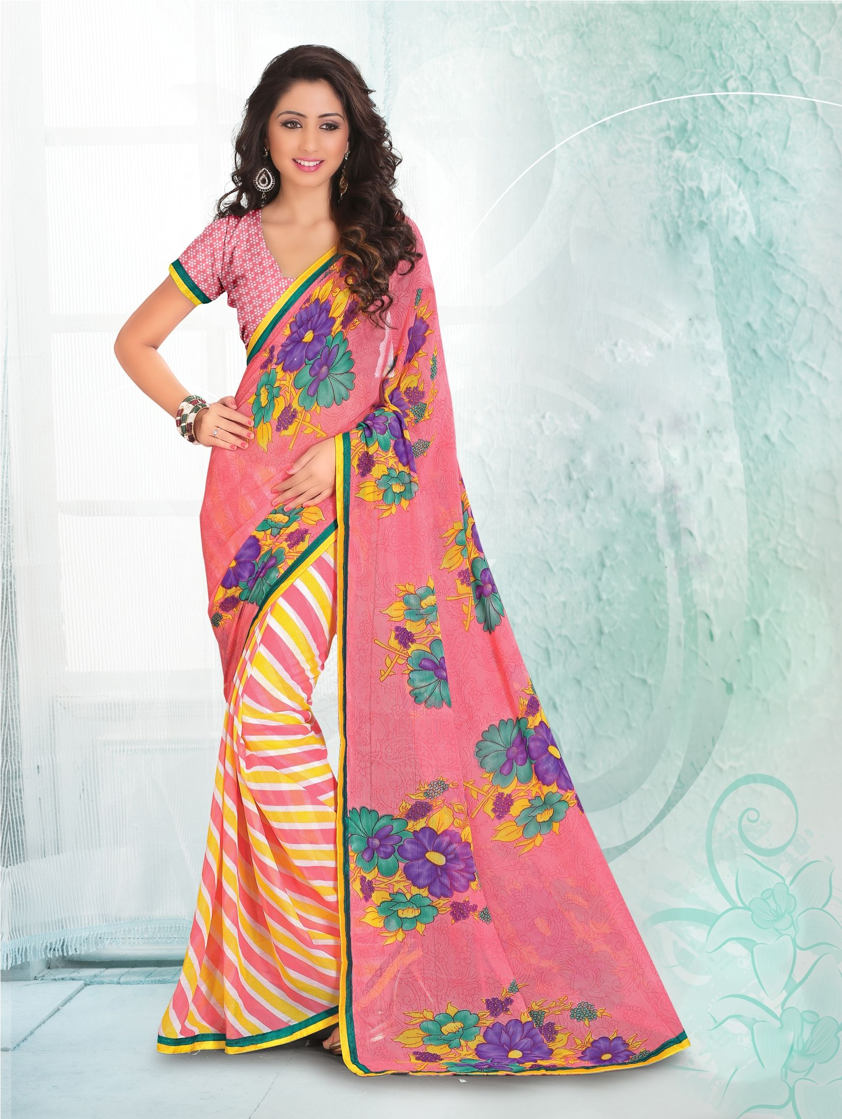 http://www.sareesaga.in/index.php?route=product/product&product_id=19005 Style: Casual Shipping Time:10 to 12 Days Occasion:Party Casual Fabric:Faux Chiffon Colour:Multi Colour Work:Print For Inquiry Or Any Query Related To Product,  Contact :- +91 9825192886