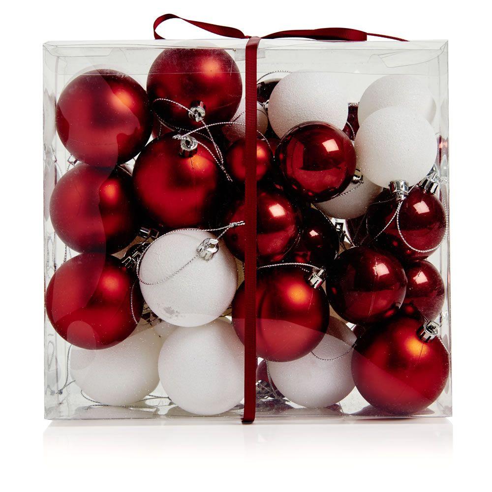 Wilko Nordic Mixed Bauble 55pk Wilko Christmas Wilko Retro Christmas