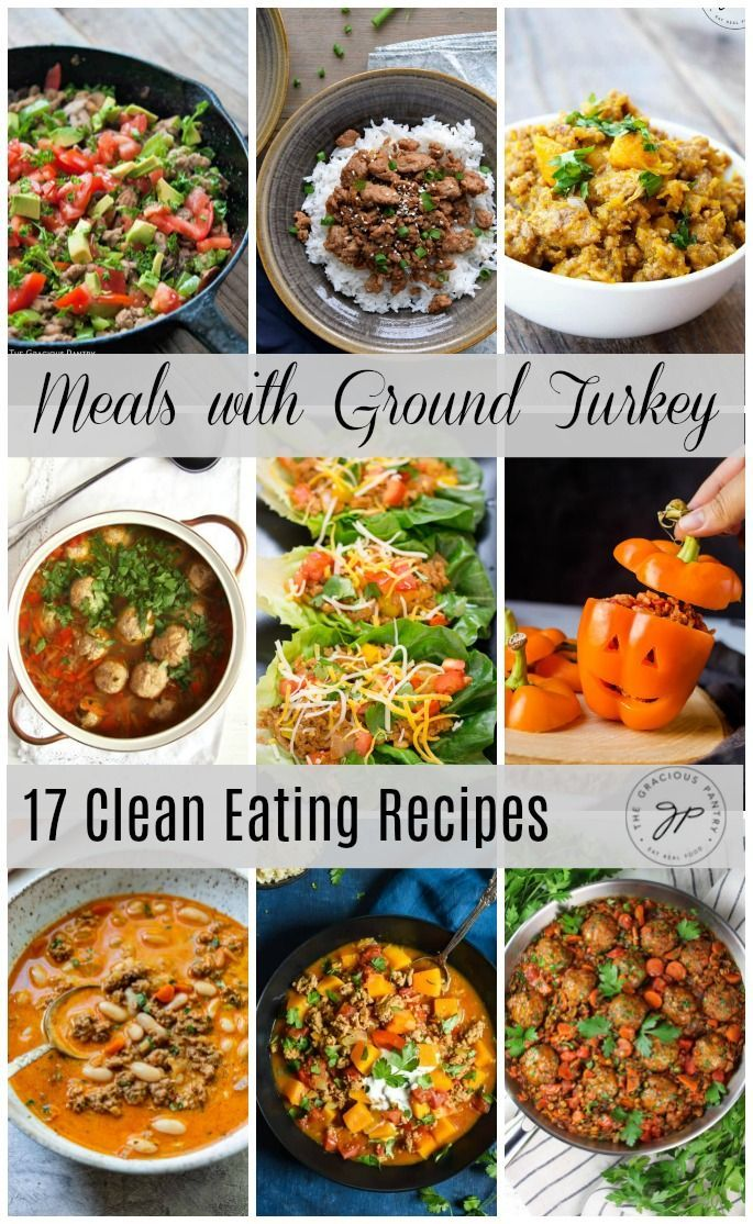17 Meals with Ground Turkey for a Clean Eating Diet images