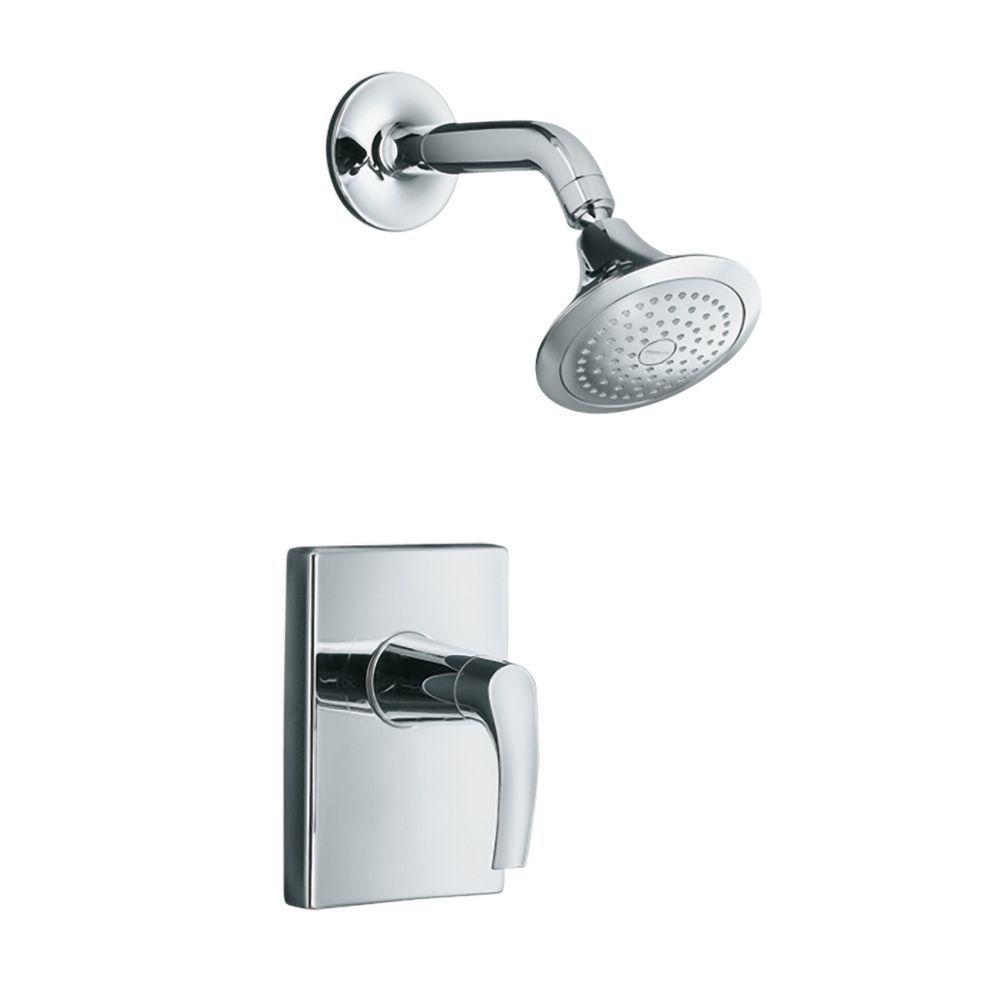 Symbol Rite Temp Pressure Balancing Shower Faucet In Polished
