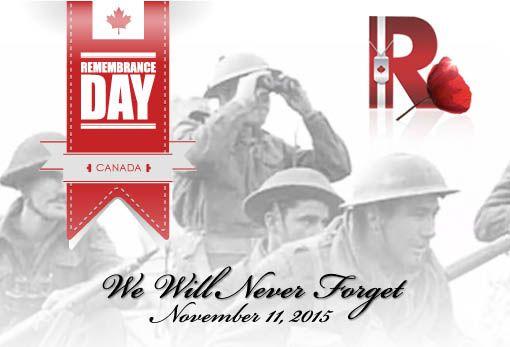 #RemembranceDay2015