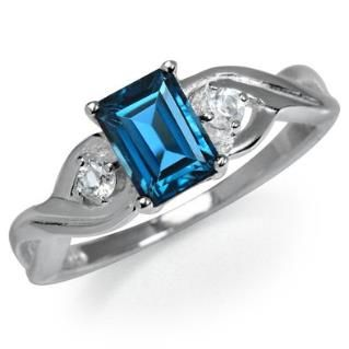 https://ariani-shop.com/132ct-natural-london-blue-white-topaz-925-sterling-silver-engagement-ring 1.32ct. Natural London Blue & White Topaz 925 Sterling Silver Engagement Ring