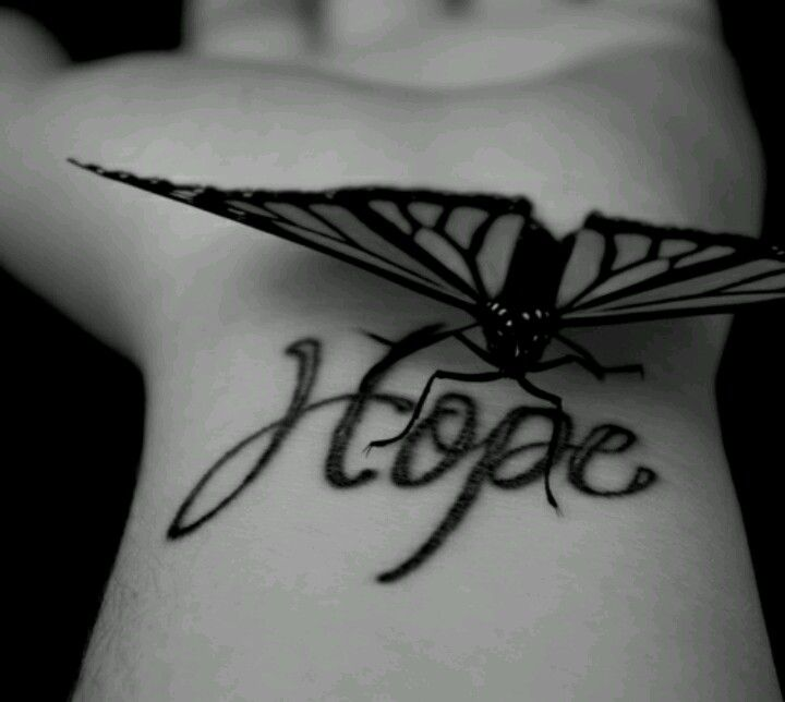 Never lose hope :)