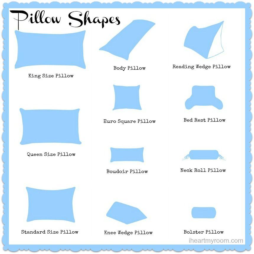 Different Pillow Sizes Explained Unique Beauty Diy