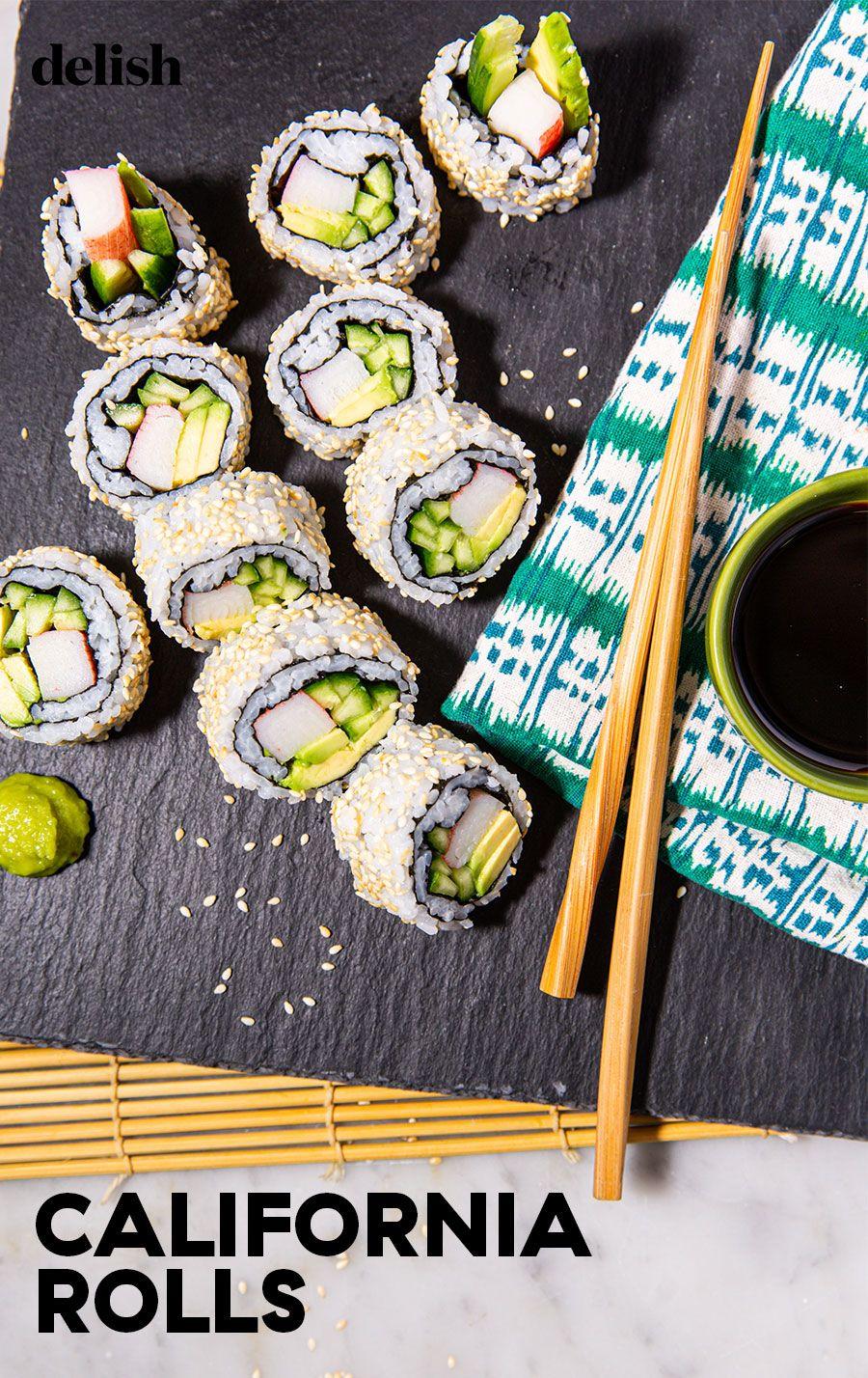 Best California Roll Recipe California Roll Sushi Sushi Sushi Recipes