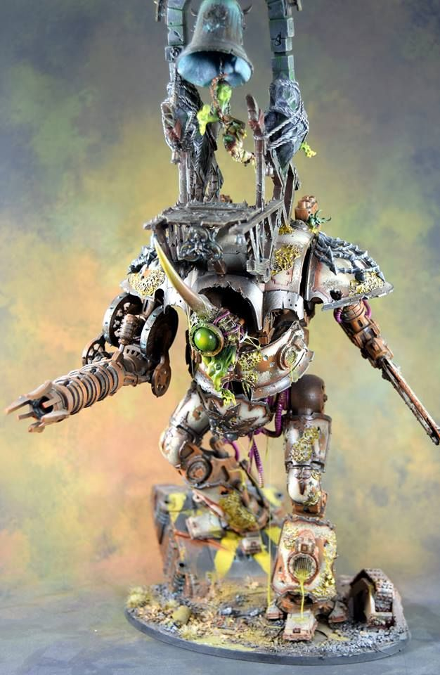 Nurgle Chaos Imperial Knight #warhammer #40k #wh40k # ...