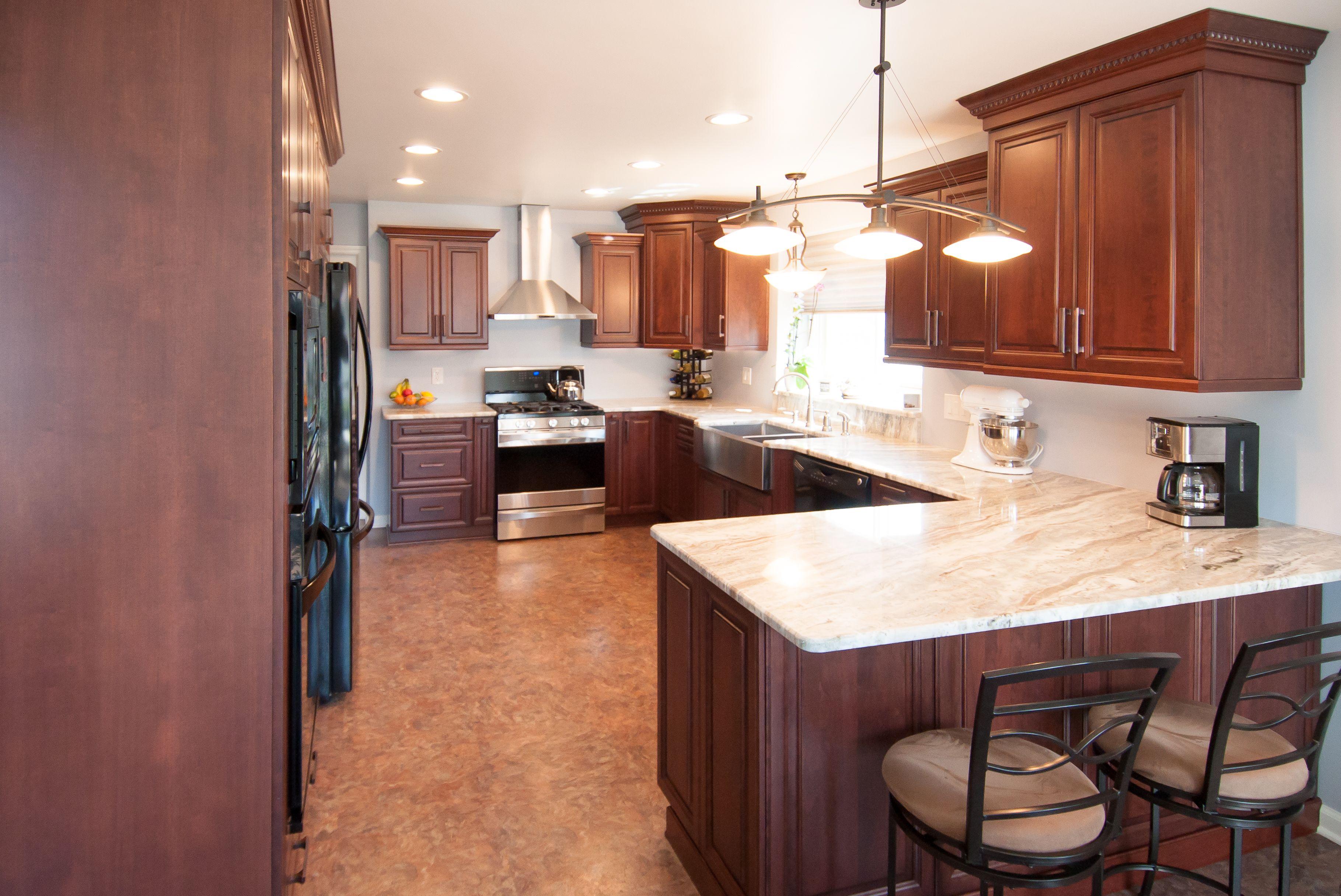 A Newly Remodeled Lafata Kitchen Custom Cabinets Kitchen Cabinets Kitchen
