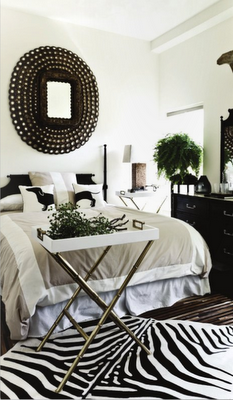 Def Want To Redo My Bedroom In Black And White With Zebra Accents Or The Cream Tan Version