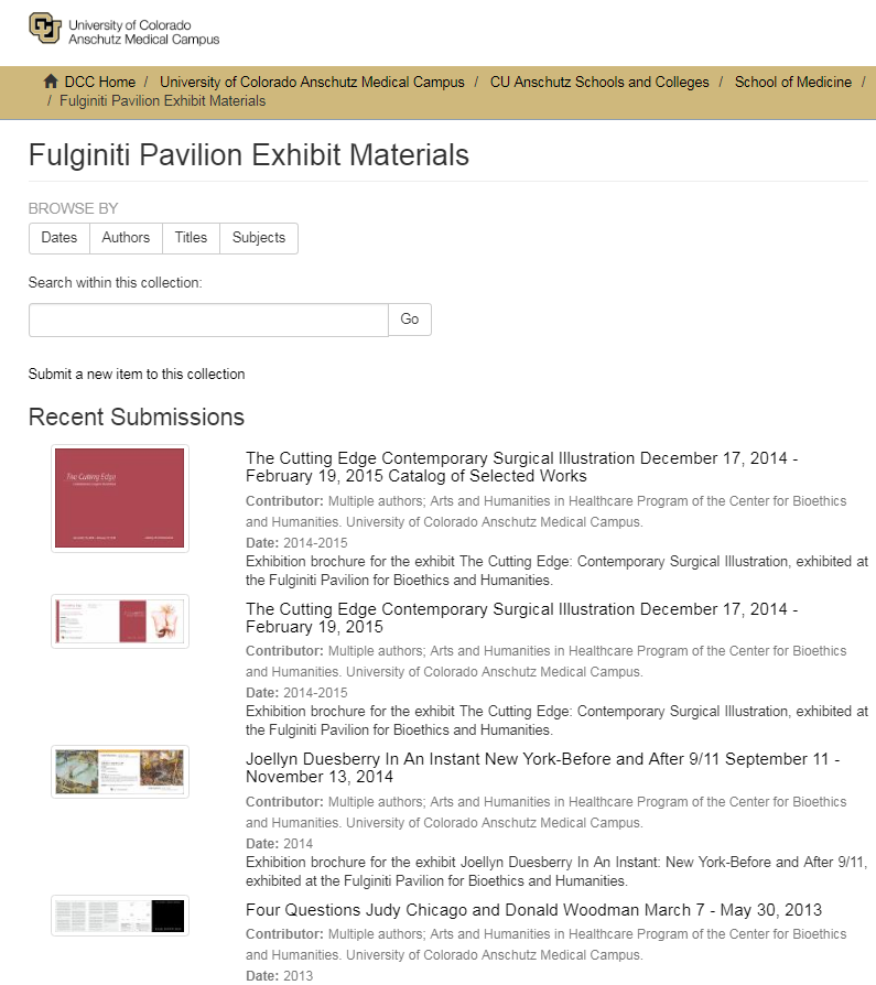 Fulginiti Pavilion Exhibit Catalogs Exhibition Catalog Pavilion