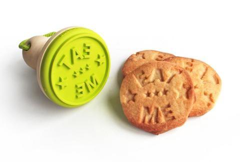 """Cookie Stamp """"Eat Me"""""""