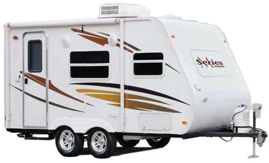 small camp trailer plans coachmen m series small travel trailer review roaming times. Black Bedroom Furniture Sets. Home Design Ideas