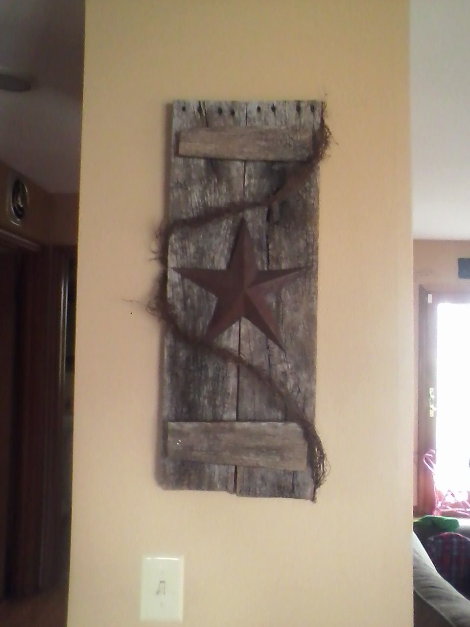 Wooden Crafts Rustic Home Decor