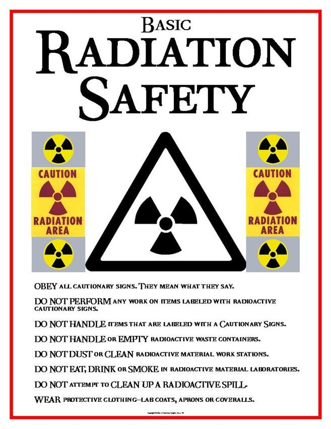 Pin By Betsy On Safety Radiation Workplace Safety Radiology Schools