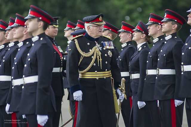 Army Reserves Commissioning Course At The Royal Military Academy