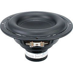 """Tang Band W5-1138SM 5-1/4"""" Neodymium Subwoofer by Tang. $59.05. Amazing bass in a compact package! This one-of-a-kind 5-1/4"""" subwoofer has an impressive 9.25 mm of Xmax. A wide roll surround, raised flat spider, and large 1-1/4"""" 4-layer voice coil ensure impressive bass performance and high power handling.. Save 23%!"""