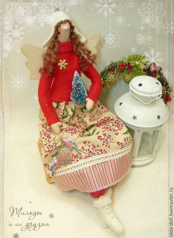 Купить Зимняя Тильда Рябиновая сказка - зимняя тильда, тильда, тильды, ангел…