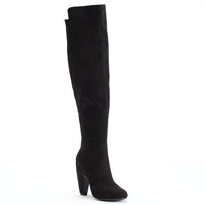 Candie's® Women's High Heel Knee-High Boots