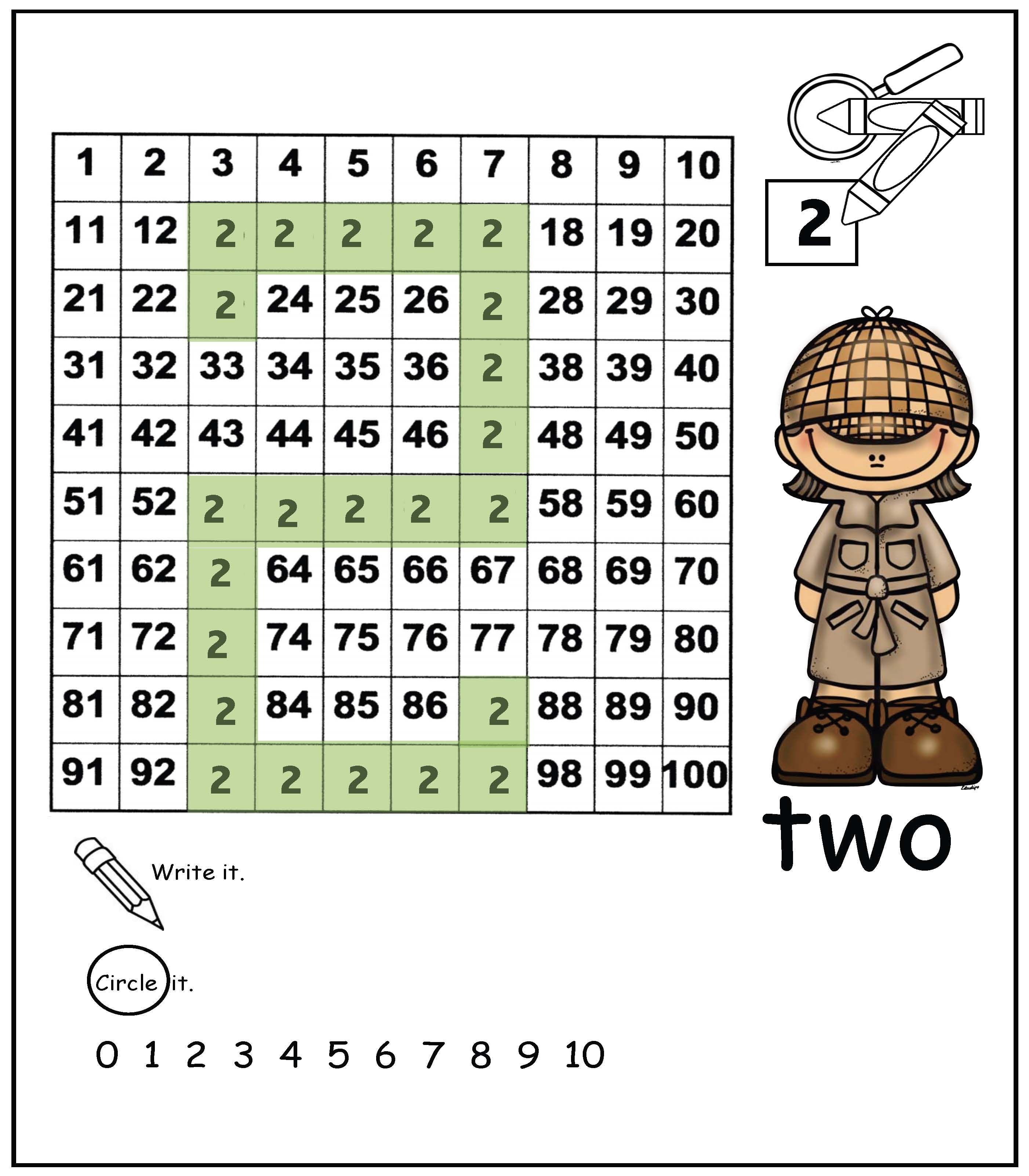 Counting & Number Recognition: Students enjoy pretending to be ...