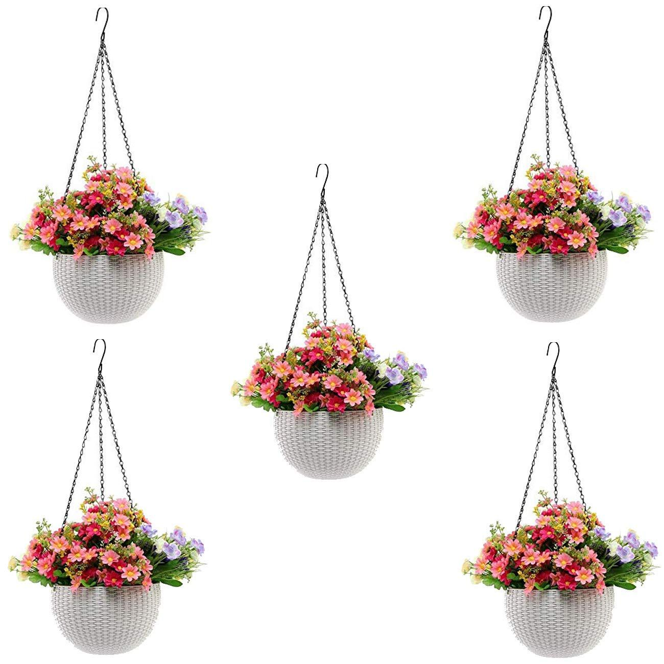 Perfect for your patio, garden, front porch, balcony or inside your home. Bring a green living to your home #gardenideas #gardendecorationideas #decorationgarden #gardenprojects #herbpots #plantsandgardening #gardenhouse #gardeningtips #gardeningstuff #gardeneasy #gardeningspaces #bestgardening #outdoorherbgarden #hangingyarddecor
