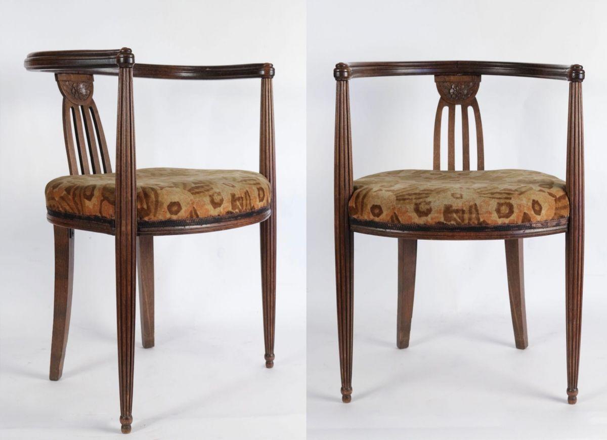 Paire de fauteuils Art-Déco