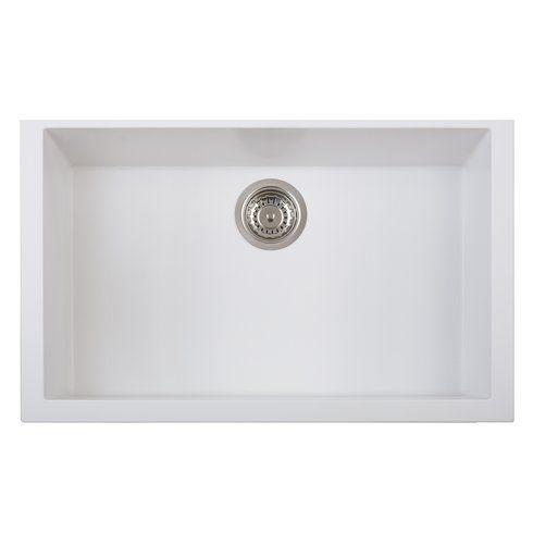 One Series Single Basin Undermount Version Kitchen Sink