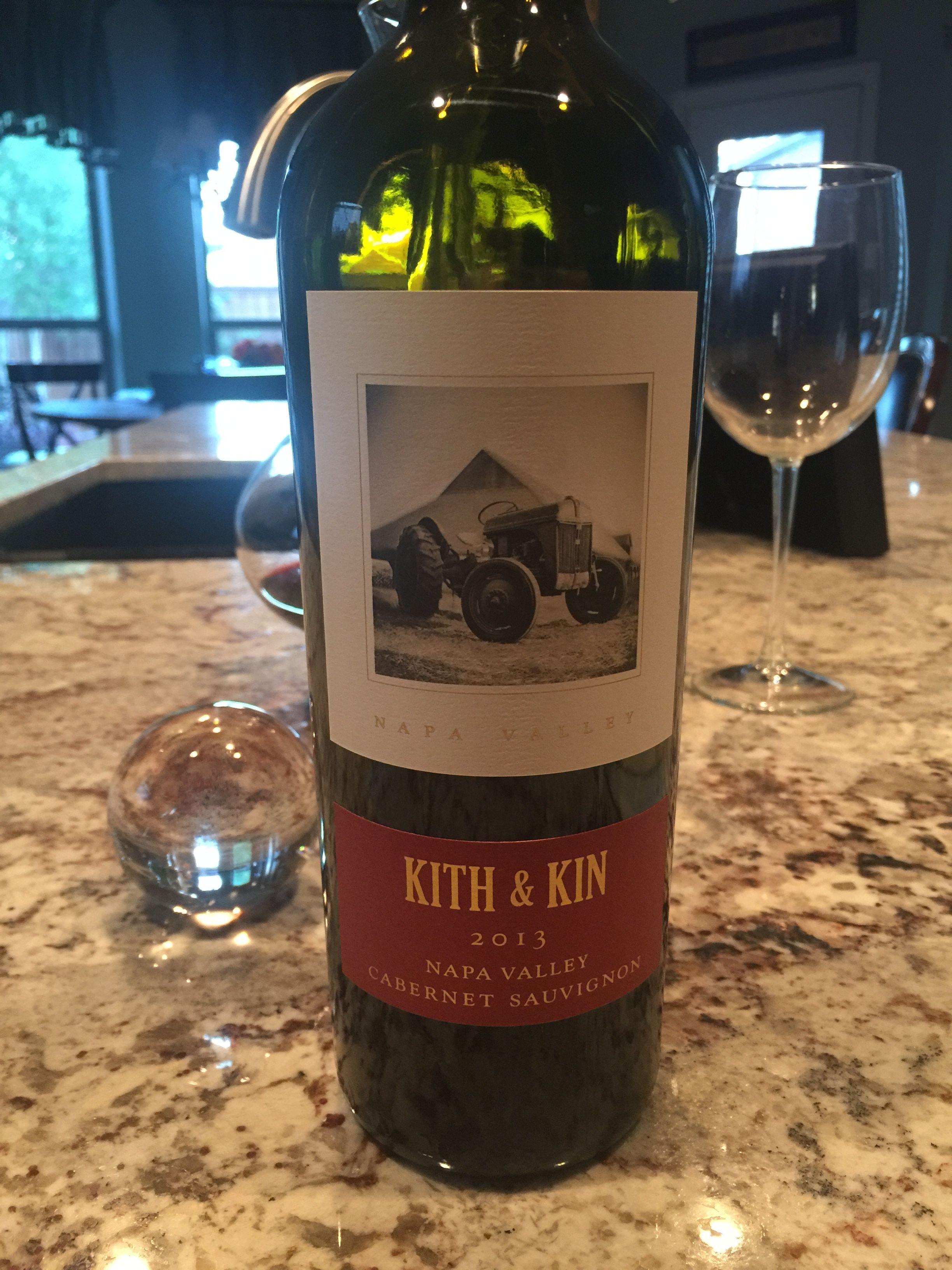 Kith & Kin 2013 Napa Valley Cabernet Sauvignon | All about wine