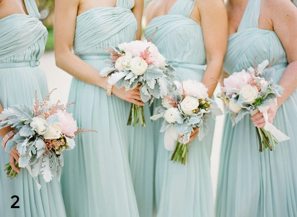 Beautiful bridesmaid dresses with bouquevolusiacountyweddings/ www.callaraesfloralevents.comts/