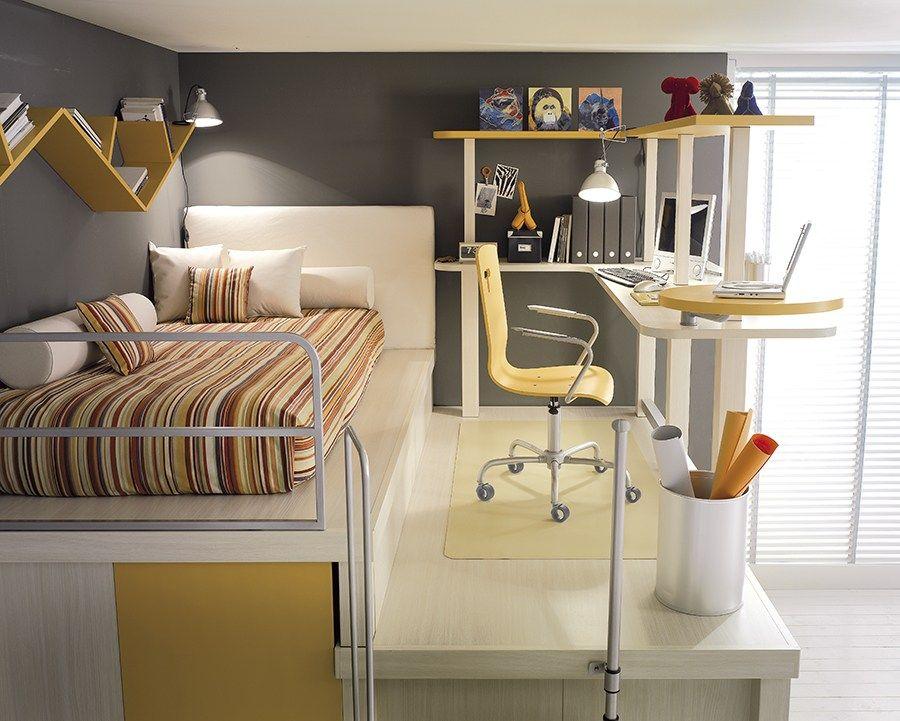 Teenage bedroom TIRAMOLLA 182 Tiramolla Collection by TUMIDEI   design  Marelli e Molteni