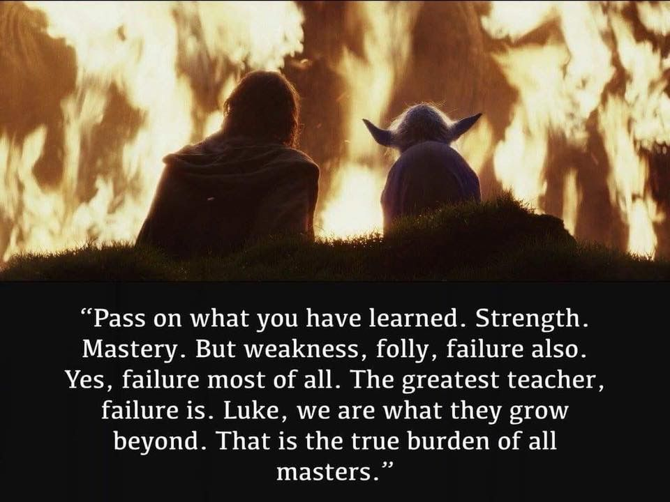 Once Again Wise Words Of Wisdom From Yoda Star Wars