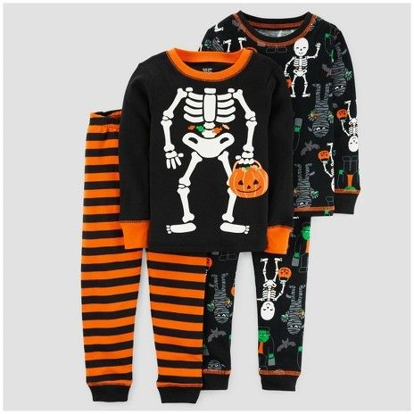 f7d66909c039 Just One You made by carter Toddler Boys  4pc Halloween Skeleton ...