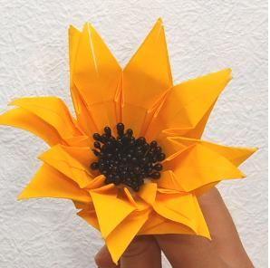 꽃 종이접기 - Daum 지식