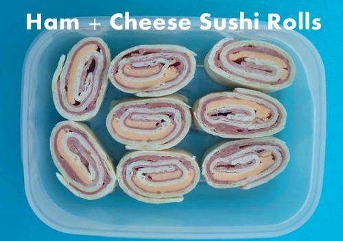 Recipe: Ham & Cheese Sushi Rolls by @Kasey Knight Trenum on landomoms.com