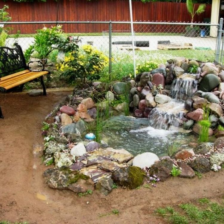 Easy Garden Pond Designs You Can Create Yourself To ...