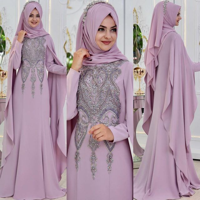 24b4dd5d5979f Tesettürlü Sade ve Şık Söz - Nişan Abiye Elbise Modelleri   Tesettür  Elbiseleri -Tesettür Giyim Moda Trend Portalınız