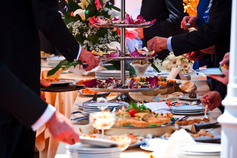 Wedding Catering Melbourne Is A Major Contributor To Dealing With Every Little Thing Beginning From T Wedding Buffet Food Wedding Reception Food Wedding Buffet