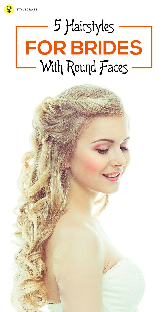 20 best hairstyles for brides with round faces | hairstyles