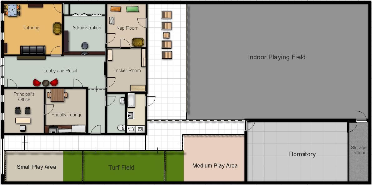 Doggie Daycare Floor Plans Pet S Comfort And Safety