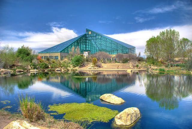 Rio Grande Botanic Gardens, Albuquerque, New Mexico