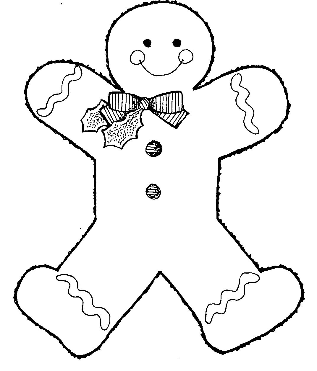 Oblique Bands Sharing The Gingerbread Coloring Pages